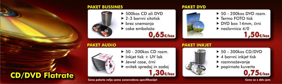 CD DVD akcijska ponudba